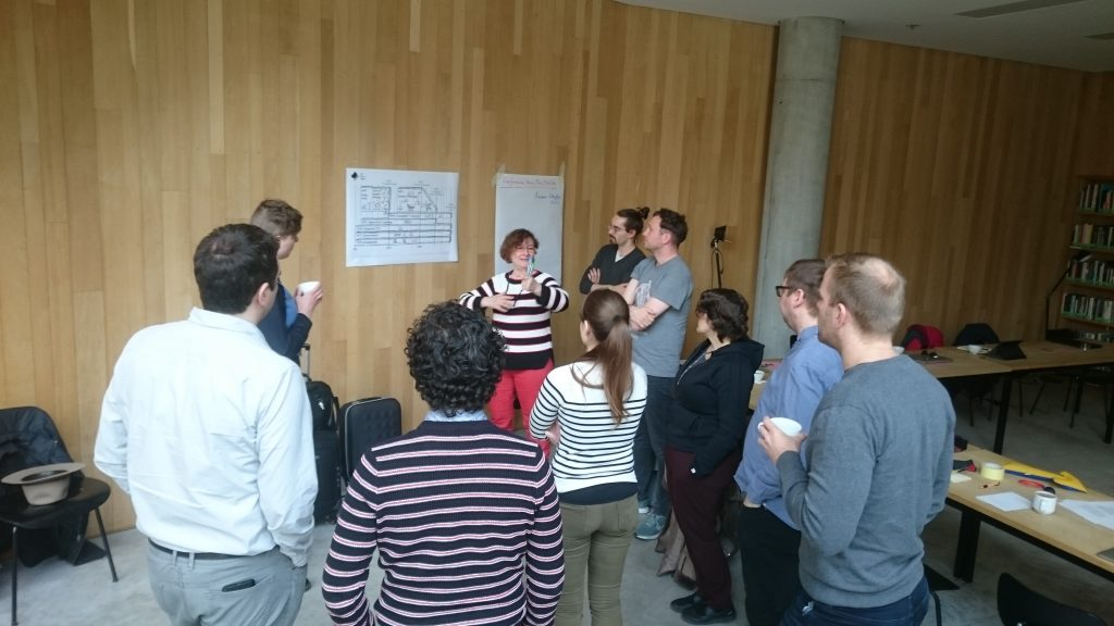 Lively discussions at the ReThiCare KickOff meeting, Weimar, April 11th & 12th